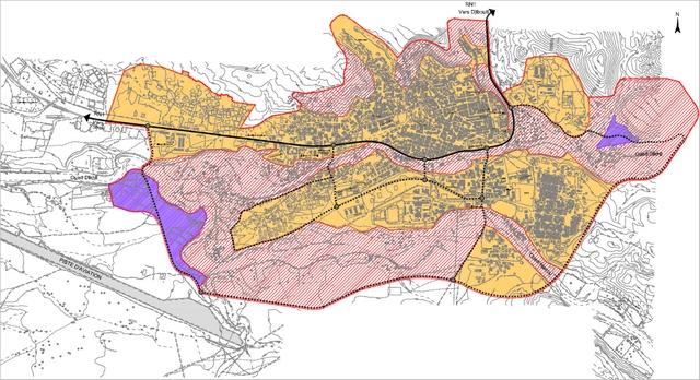 carte5-plan d'affectation des sols