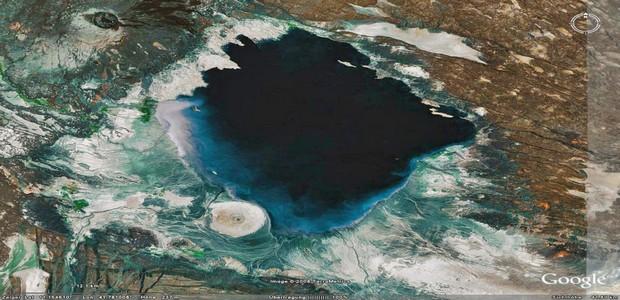 lac abbe vue sattelite