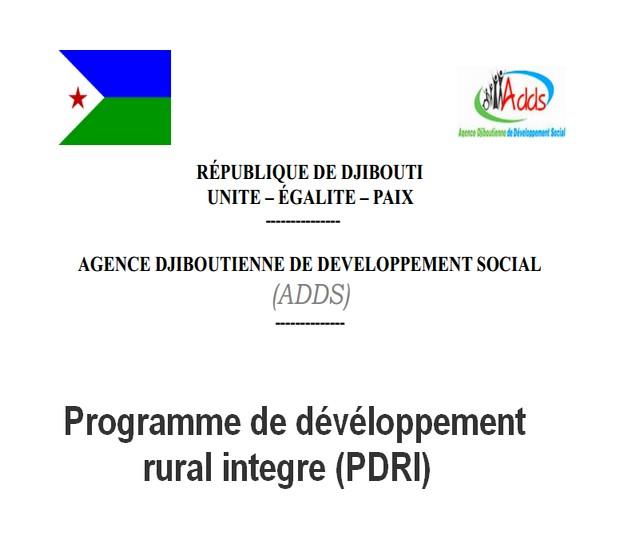 Programme de dévéloppement rural integre (PDRI): Programme de dévéloppement agricole