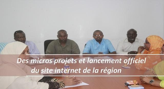 Gallerie photos: Des micros projets et lancement officiel du site internet de la région